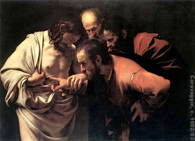 Caravaggio's depiction